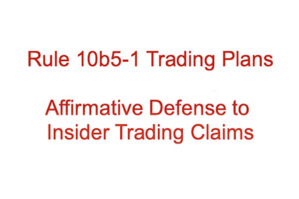 Rule 10b5-1