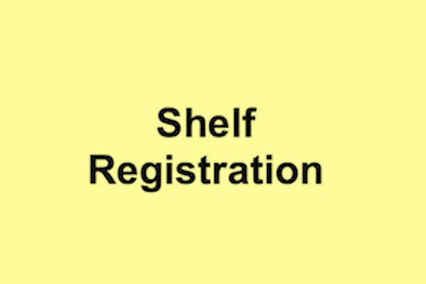 Shelf Registration