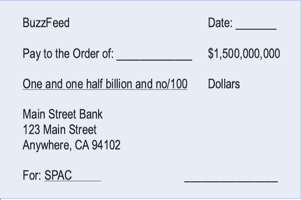 SPAC Blank Check